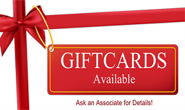 Ask About Our Gift Cards